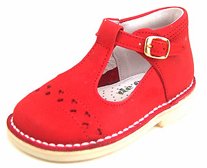 DE OSU A-606 - Red High Tops - EU 22 US 6