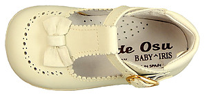 DE OSU B-101 - Ivory Leather Dress Shoes