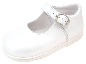 DE OSU B-111 - White Mary Janes