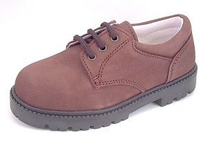 DE OSU/FARO F3200 - Brown Nubuck Oxfords