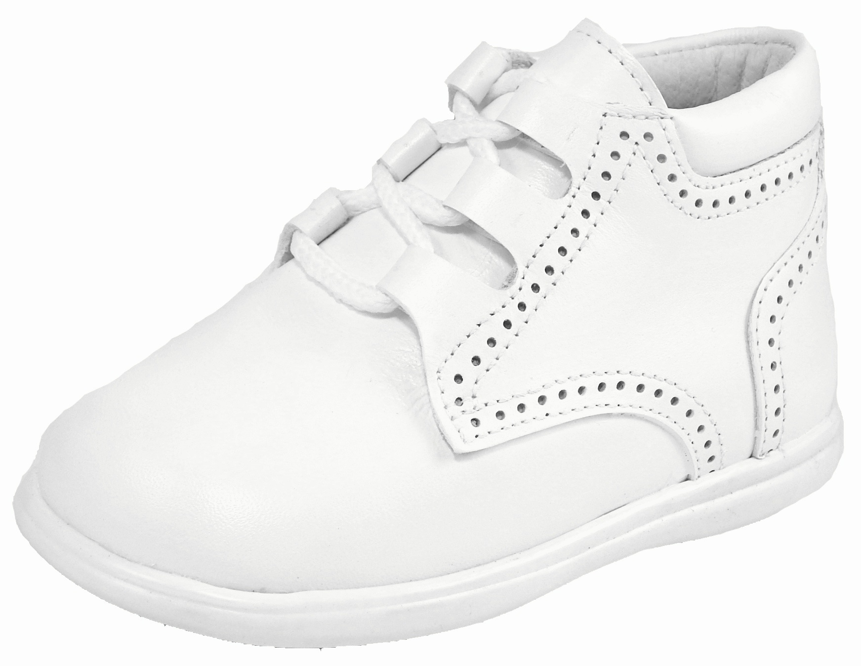 Boys White Dress Shoes