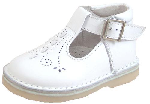 De Osu 1166 White Leather Shoes