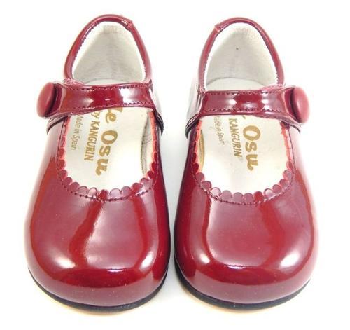 Osu Toddler Girls Classic European Burgundy