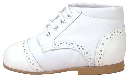 DE OSU A-432 - White Dress Boots