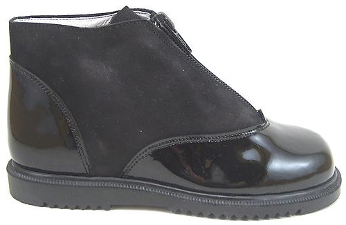 S-6733 - Black Patent Boots - Euro 26 Size 10