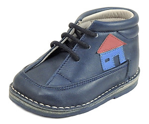 213 - Baby's Navy Boots - Euro 16 Size 1