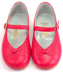 2608 - Red Dress Mary Janes