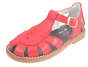 DE OSU 3468 - Red Fisherman Sandals
