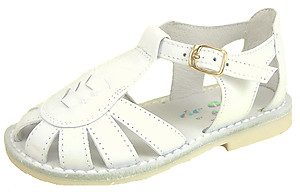 3468 - White Fisherman Sandals