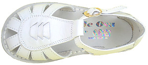 3468 - White Fisherman Sandals - Euro 26 Size 10