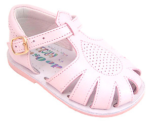 440 - Pink Fisherman Sandals - EU 18 Sz 2.5-3