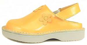 FARO FH0411 - Sunshine Yellow Patent Clogs