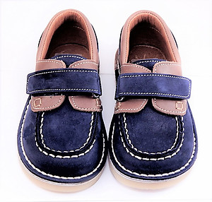 FARO 5H0520 - Navy/Brown Boat Shoes - EU 24 US 7