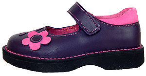 FARO 5Q0311 - Purple & Fuschia Mary Janes