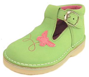 FARO 5S5130 - Lime Butterfly Shoes - Euro 21 Size 5