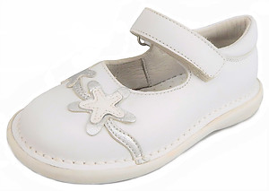 FARO 5Y0711 - White Star Fish Mary Janes - Euro 24 Size 7