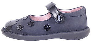 5Z7511 - Black/Navy Mary Janes - Euro 24 Size 7