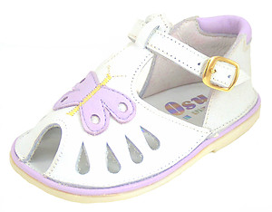 8152 - White Lavender Sandals