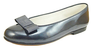 A-1182 - Silver Patent Ballet Flats