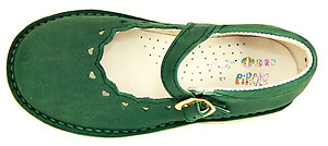 A-1235 - Forest Green Mary Janes