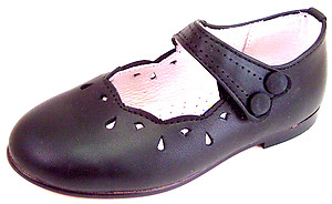 DE OSU A-1284 - Black Dress Shoes - Euro 21 Size 6