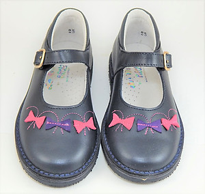 A-1290 - Navy Mary Janes