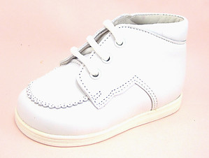 A-359 - Classic White Baby Boots