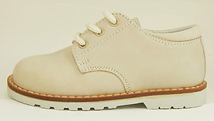 FARO A-5078 - Beige Nubuck Oxfords