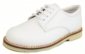 A-5079 - White Dress Oxfords