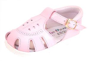 A-7027 - Pink Fisherman Sandals - EU 18 US 3