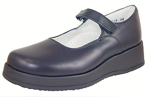 FARO B-218 - Navy Blue Mary Janes