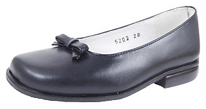 B-5202 - Pearlized Navy Ballet Flats