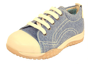 FARO B-6138 - Denim Blue Suede Sneakers