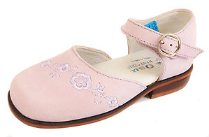 B-6460 - Pink Mary Janes - Euro 26 Size 9