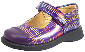 FARO B-6528 - Purple Patent Mary Janes