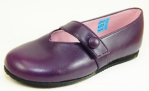 FARO CA-3407 - Purple Button Flats - Euro 27 Size 10