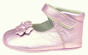 DE OSU DO-130S - Lavender Crib Shoes