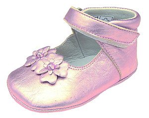 DO-130S - Lavender Crib Shoes