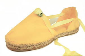 E-11 - Yellow Rose Espadrilles