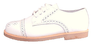FARO F-2740 - White Dress Oxfords
