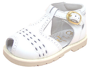 DE OSU/FARO F-3013 - White High Top Sandals