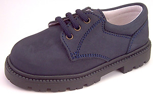 FARO F-3200 - Navy Nubuck Oxfords