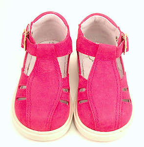 FARO F-3579 - Fuschia T-Strap High Tops