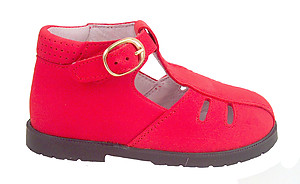 FARO F-3569 - Red Nubuck Hightops