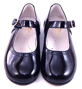 FARO F-4047 - Black Patent Mary Janes