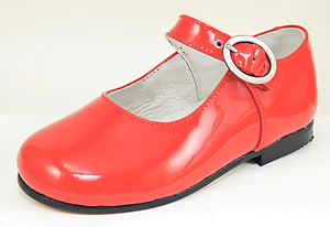 FARO F-4277 - Red Patent Mary Janes