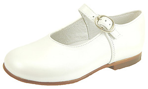 FARO F-4277 - White Pearlized Mary Janes