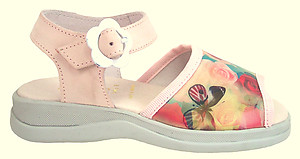FARO F-4642 - Pink Butterfly Rose Sandals