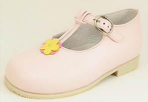 K-1053 - Pink T-Strap Mary Janes - Euro 24 Size 7