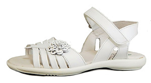 K-1069 - White Dress Sandals - Euro 26 Size 9
